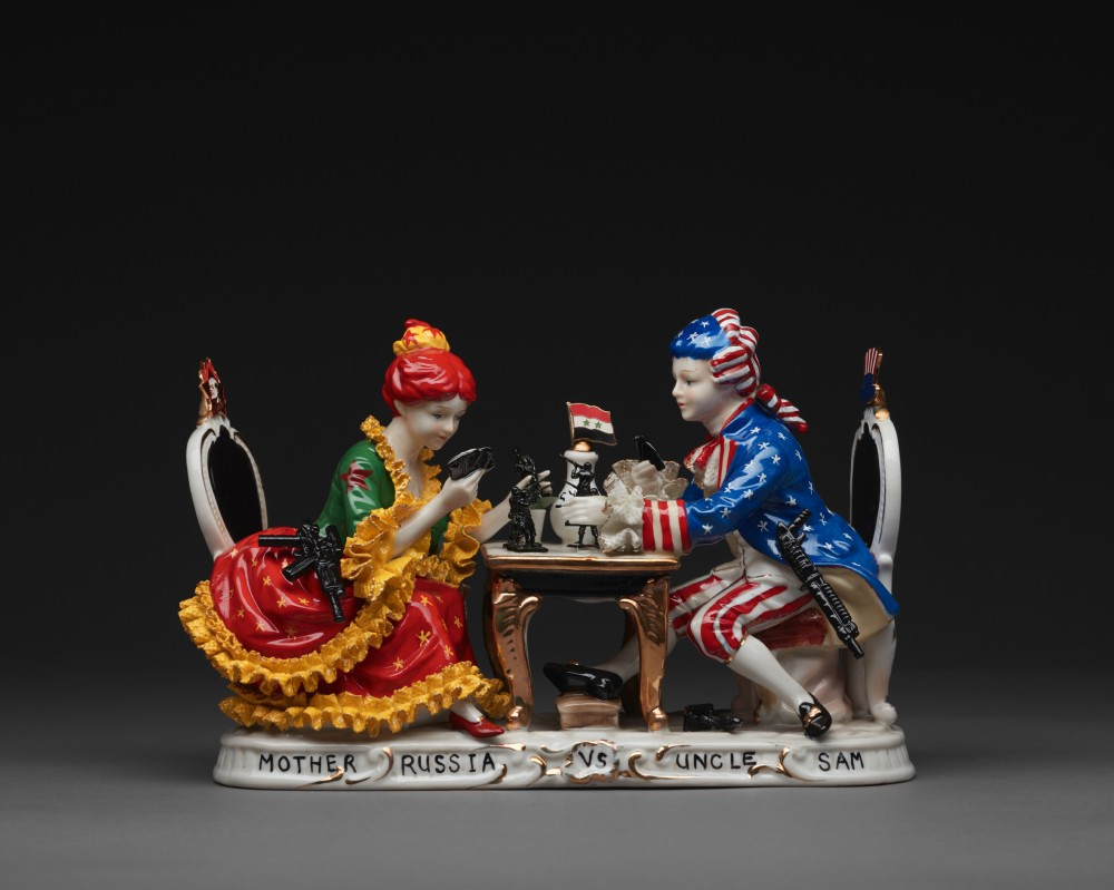 Mother Russia vs Uncle Sam by Penny Byrne